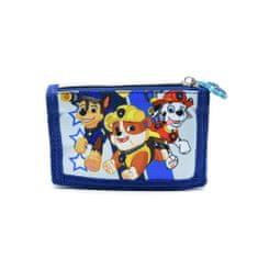 """SETINO Otroška tekstilna denarnica """"Tačke na patrulji"""" - modra"""