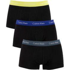 Calvin Klein 3 PAKET - moški bokserji U266 4G -MC0 (Velikost S)