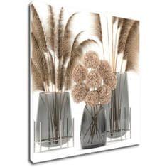 Impresi Obraz Květiny ve váze - 50 x 50 cm