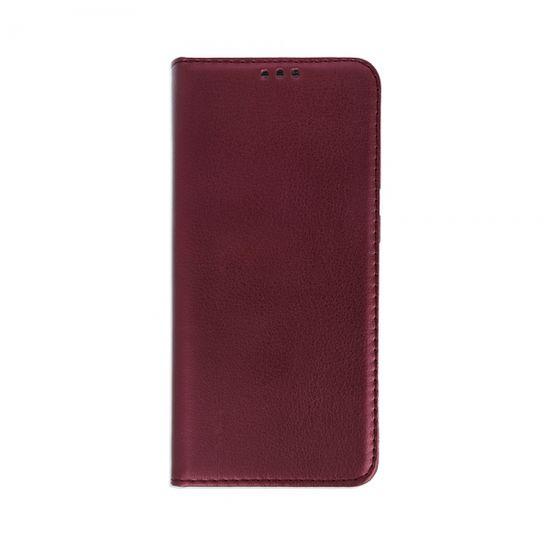 Havana Premium ovitek za LG K42, preklopni, bordo rdeč