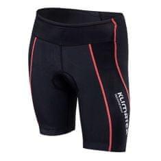 Klimatex Kerékpáros rövidnadrág RIBE M fekete / korall, Kerékpáros rövidnadrág RIBE M fekete / korall