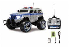 Jamara Police amored car Monstertruck, 1:12, 27 MHz, LED