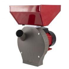 Elefant Vynikající drtič obilí MKZ-240 Velká nádrž, elektrický mlýn 3,5 kW, 2850 ot./min + podstavec