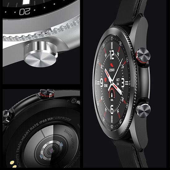Wotchi Smartwatch W20B - Black Silicon