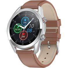 Wotchi Smartwatch W22B - Brown Leather
