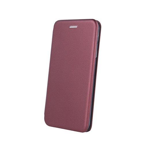 Havana Premium Soft ovitek za Samsung Galaxy A12, preklopni, bordo