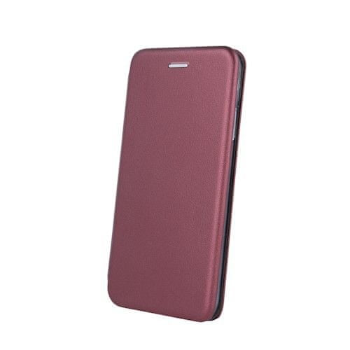 Havana Premium Soft ovitek za Samsung Galaxy S21, preklopni, bordo