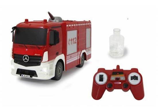 Jamara Fire Truck TLF with spray function Mercedes-Benz, 1:26