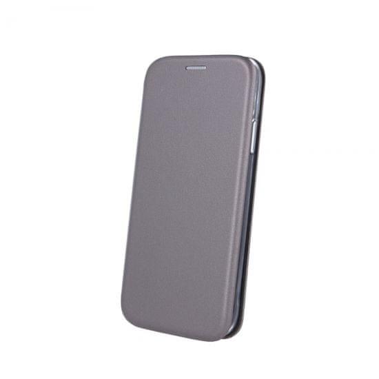 Havana Premium Soft maskica za Samsung Galaxy S21, preklopna, siva
