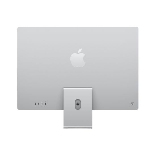 Apple iMac 24 računalnik, 512 GB, Silver - SLO (mgpd3cr/a)