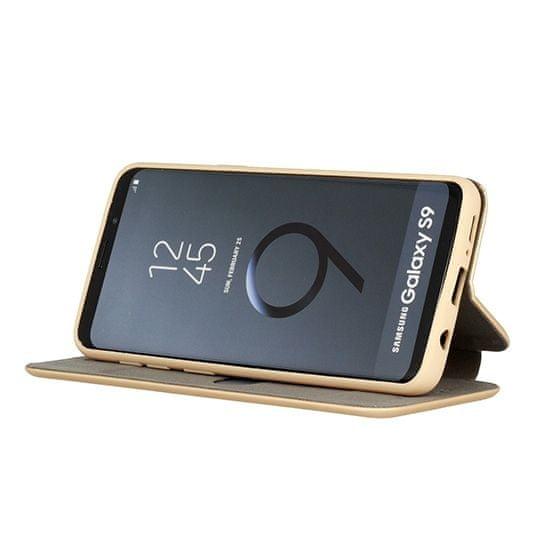 Havana Premium Soft maskica za Samsung Galaxy S21, preklopna, zlatna
