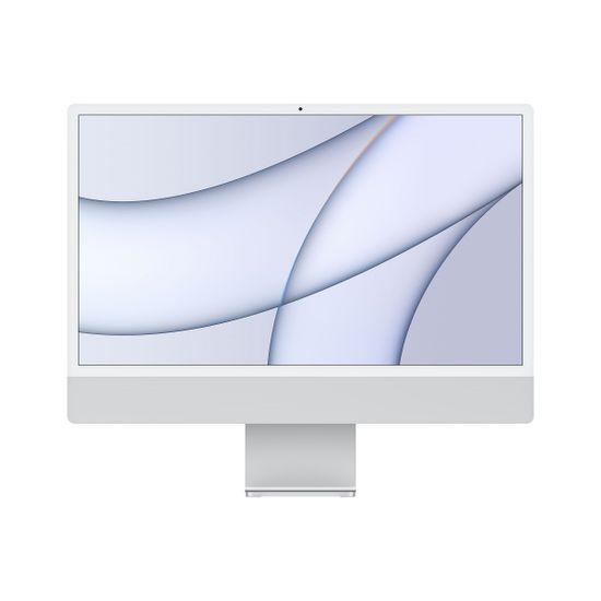 Apple iMac 24 računalnik, 7C GPU, 256 GB, Silver - SLO (mgtf3cr/a)