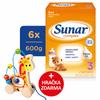 Sunar Complex 3, batoľacie mlieko, 6x600g