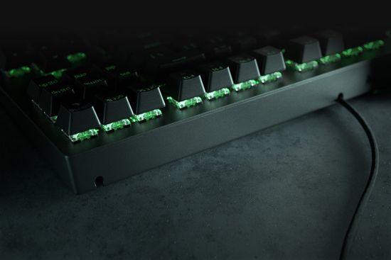 Razer BlackWidow V3 Tenkeyless tipkovnica, brez numeričnega dela, rumena mehanska stikala, US SLO g.