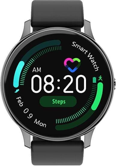 Wotchi Smartwatch W31BS - Black Silicon