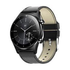 Wotchi Smartwatch E13 - Black Leather