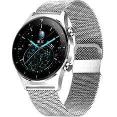 Wotchi Smartwatch E13 - Silver Stainless