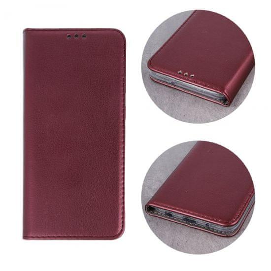 Havana Premium ovitek za LG K52, preklopni, bordo rdeč