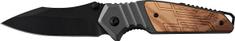 Ausonia zložljiv nož z alu/lesenim ročajem