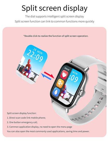 Wotchi Smartwatch W317G - Gold