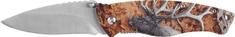 Ausonia zložljiv nož z aluminijastim ročajem, 3D vzorec jelena