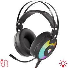 Genesis Neon 600 RGB gaming slušalke z mikrofonom