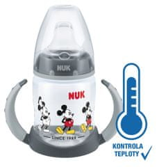 Nuk butelka z kontrolą temperatury DISNEY Mickey, 150 ml - chłopiec