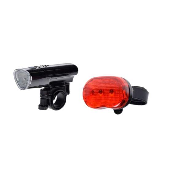 megamiska Set LED kolesarskih svetilk zadnja + sprednja