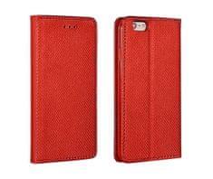 Havana ovitek za Samsung Galaxy A12 A125, preklopni, magnetni, rdeč
