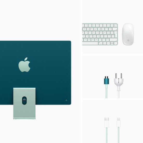 Apple iMac 24 računalnik, 512 GB, Green - INT (mgpj3ze/a)