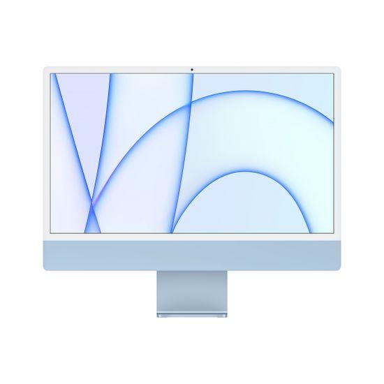 Apple iMac 24 računalnik, 256 GB, Blue - INT (mgpk3ze/a)