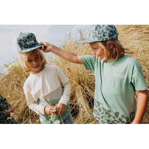 Minikid Detská šiltovka zelené LEO MINIKID-Minikid