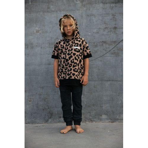 Minikid Chlapčenské tričko hnedé LEO MINIKID-Minikid