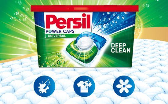 Persil Power Caps Universal mosókapszula, 72 db