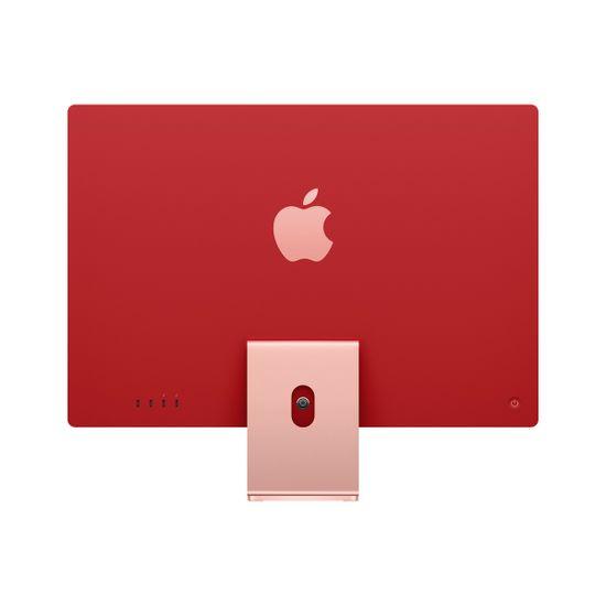 Apple iMac 24 računalnik, 256 GB, Pink - SLO (mgpm3cr/a)