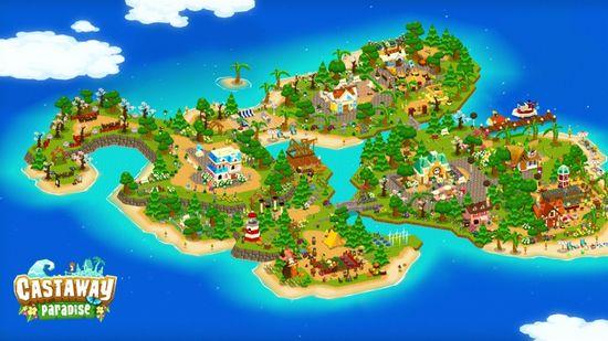 Mindscape Castaway Paradise (Nintendo Switch)