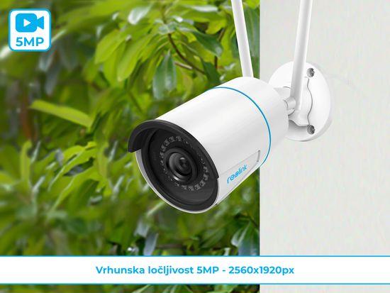 Reolink RLC-510WA zunanja kamera, WiFi, 5 MP, IP66