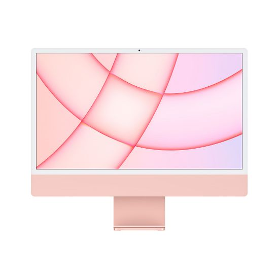 Apple iMac 24 računalnik, 512 GB, Pink - SLO (mgpn3cr/a)