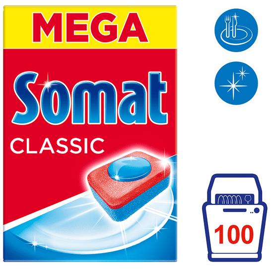 Somat Classic tablety do myčky 100 ks
