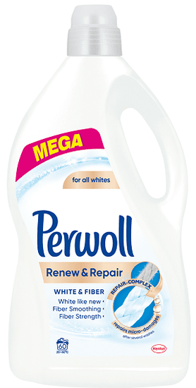 Perwoll Renew Advanced White (60 mosás)