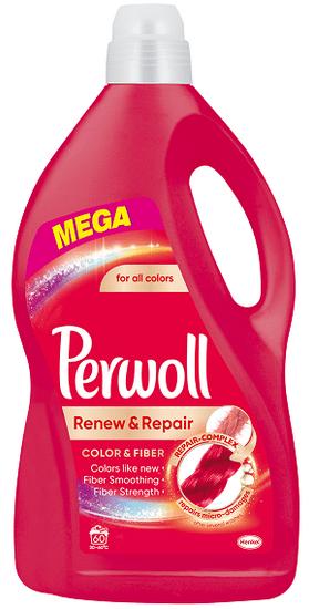 Perwoll pralni gel Renew Advanced Color, 3,6 l, 60 pranj