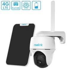 Reolink Go PT zunanja kamera + solarni panel, 4G-LTE, FHD, IP65