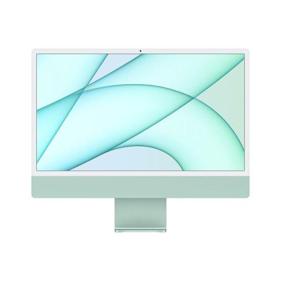 Apple iMac 24 računalnik, 7C GPU, 256 GB, Green - INT (mjv83ze/a)