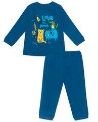 WINKIKI chlapecké pyžamo Animals WNB11963-380 74 tmavě modrá