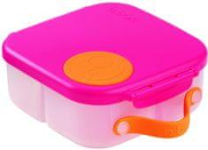 b.box posoda za malico, srednja, roza/oranžna