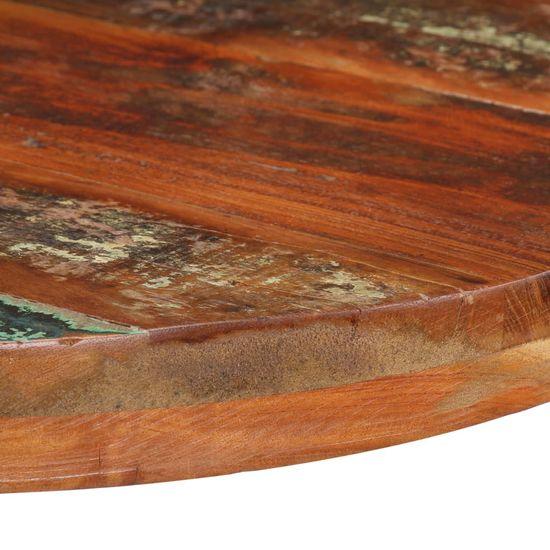 Greatstore Bistro mizica okrogla Ø 60x75 cm trden predelan les