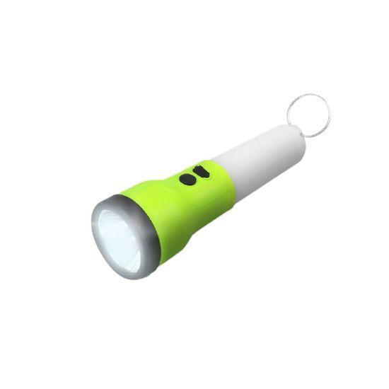 LTC Ročna USB LED svetilka 2W + 1W SMD 300lm + 150lm