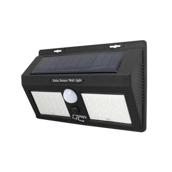 LTC Solarna LED svetilka stenska 40 LED 8W 2400lm s senzorjem