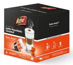 René Latte Macchiato Caramel kapsle pro kávovary Dolce Gusto 16 kapslí