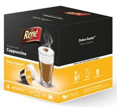 René kapsułki Cappuccino do ekspresu do kawy Dolce Gusto 16 szt.